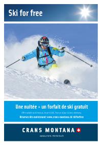 Ski for free 15.03-19.04.2015