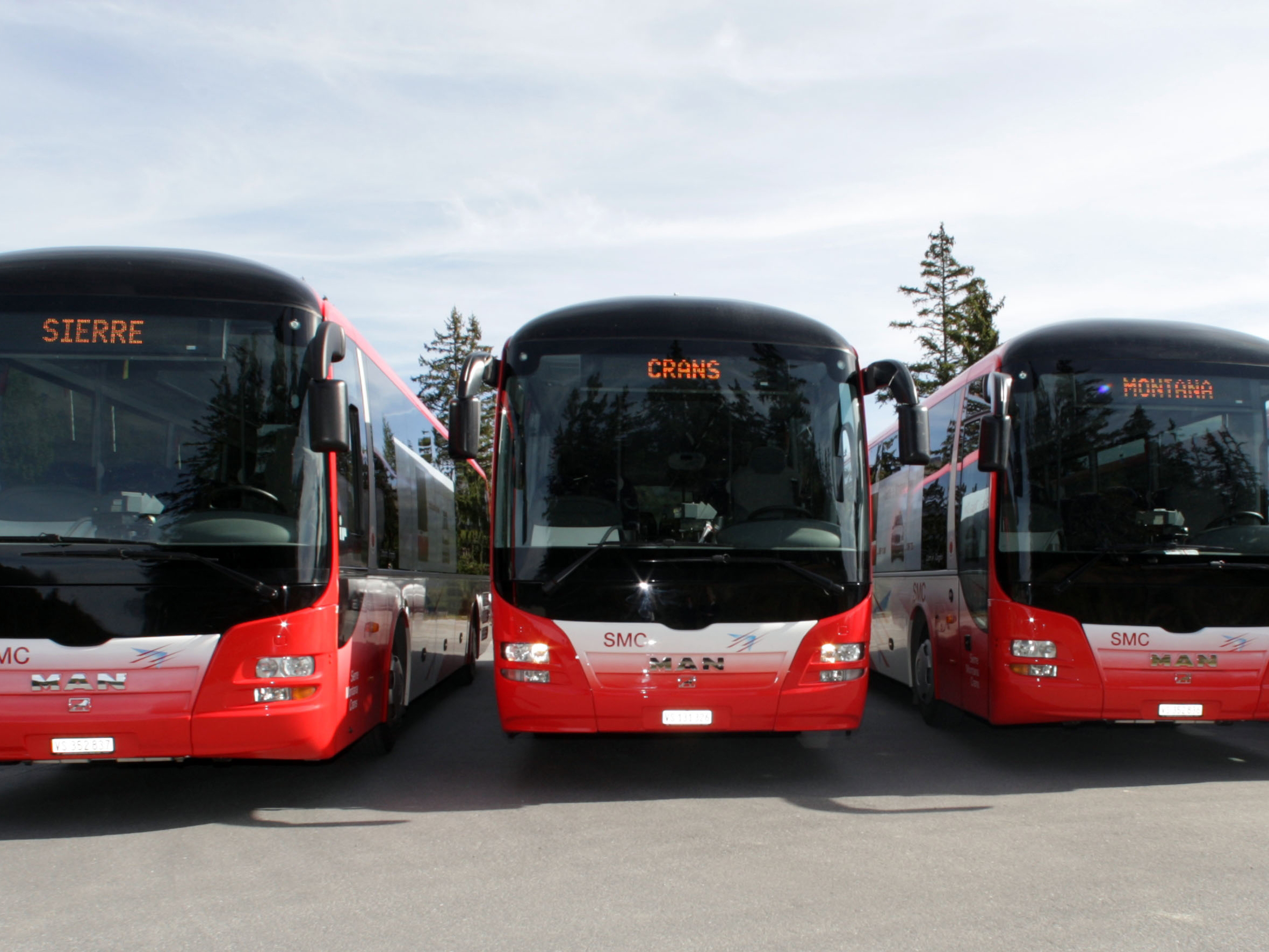 bus navettes
