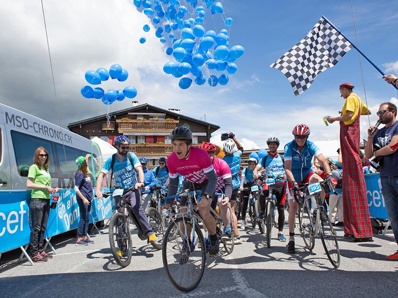 Cycling for Children by UNICEF
