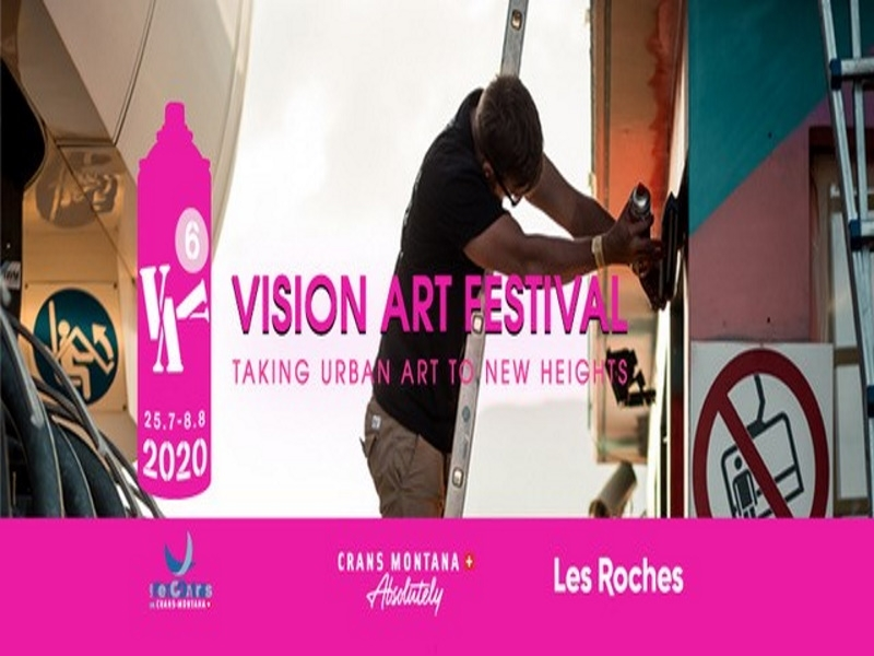 Vision Art Festival 2020 - Taking urban art to new heights