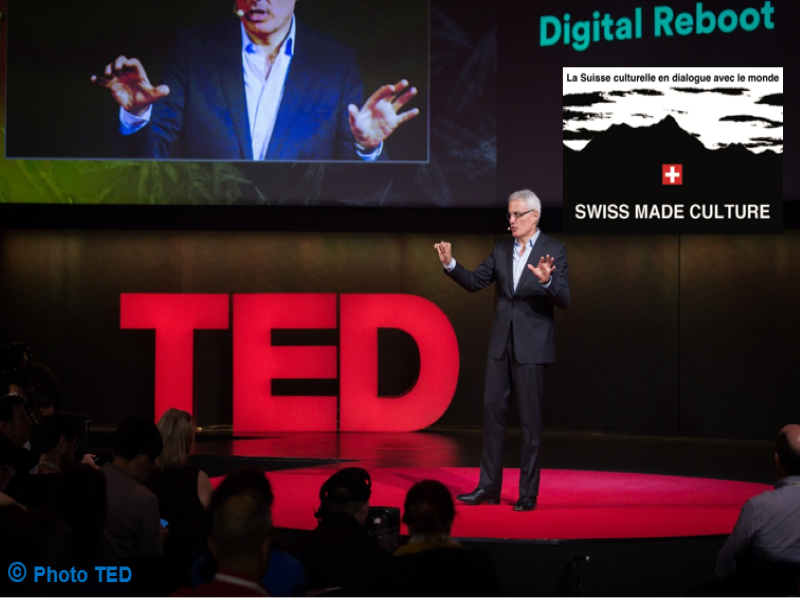 Rencontre avec Bruno Giussani, Directeur global, TED