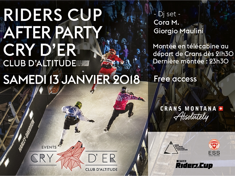 Riders Cup After Party