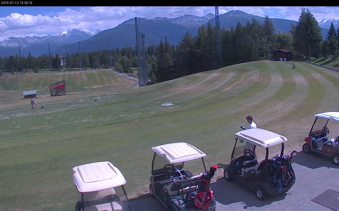 Webcam Crans-Montana, Golf