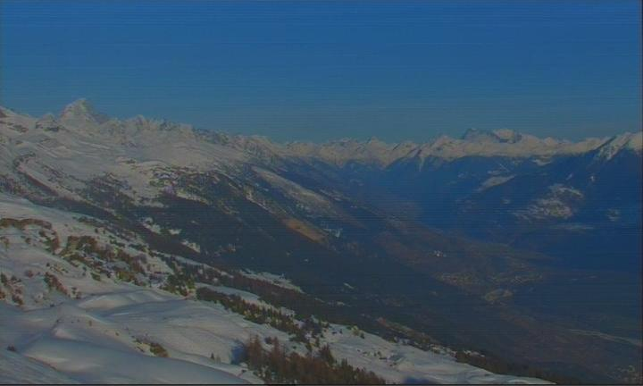 Webcam Montana Crans Rhonetal Ost