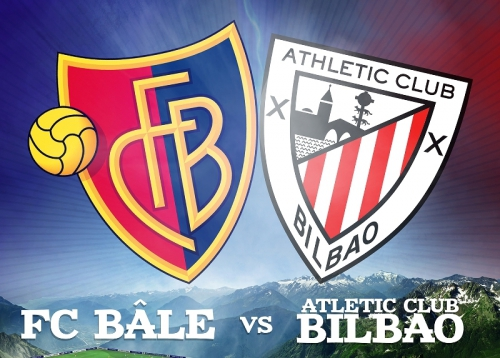 Friendly match between FC Basel and Athletic Bilbao